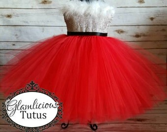 Santa Tutu Dress| Santa dress Costume | Mrs. santa claus Tutu dress | Christmas Tutu dress | newborn- child size 8 listing