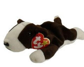 Bruno Terrier Dog - Retired Ty Beanie Baby - 1997 - Mint Condition
