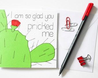 Sexy Valentine Card Naughty Card Dirty Valentine Card Dirty