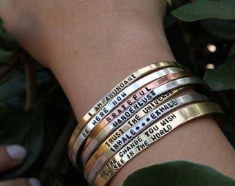 Custom Hand stamped bracelet.  Custom Bracelet. Custom Cuff Bracelet.Personalized Jewelry. custom bracelet personalize. Name bracelet.