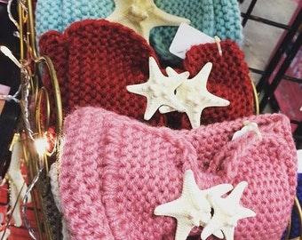 SALE!!  Handmade Crochet Very Soft Ear Warmer Headband Hat Headwarmers
