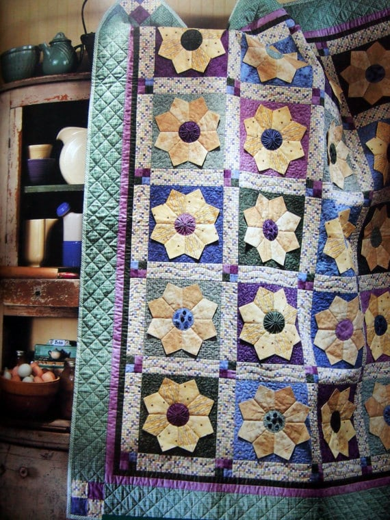 Debbie Mumm Cottage in Bloom Quilting Pattern Book Applique : debbie mumm quilt books - Adamdwight.com