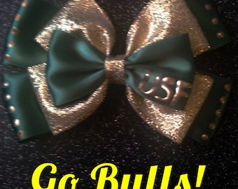 USF Bulls inspired bow