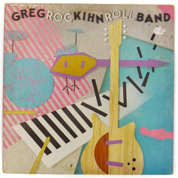 Vintage 80s Greg Kihn Band RocKihnRoll Album Record Vinyl LP
