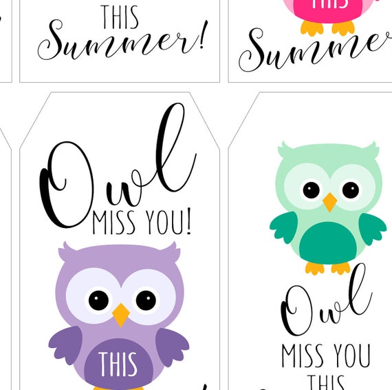 Amazing image inside owl miss you printable
