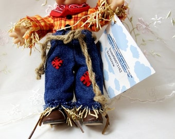 """Effanbee 8"""" Scarecrow Kewpie Doll by Jesco Imports"""