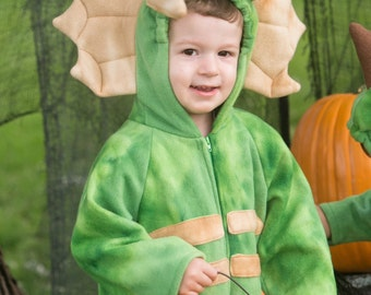 Triceratops Fleece Baby Costume