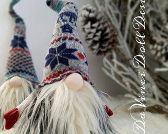 Nordic Gnome Swedish Tomte Christmas SANTA Sockerbit decoration