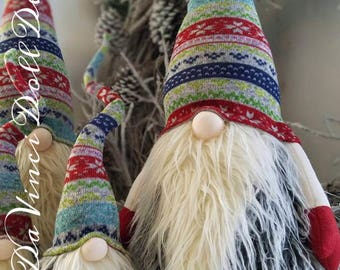 XL Swedish Tomte Nordic Nisse Christmas Gnome Troll Elf Scandinavian Santa decoration