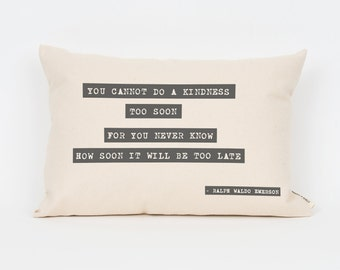 Custom Quote Pillow, Motivational Pillow, Hipster Home Decor, Personalized Gift, Gift for Best Friend, Dorm Decor, Graduation Gift Idea