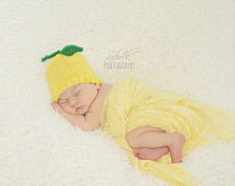 Lemon Baby Hat • Lemon Newborn Hat • Lemon Toddler Hat • Lemon Baby Costume • Baby Shower Gift