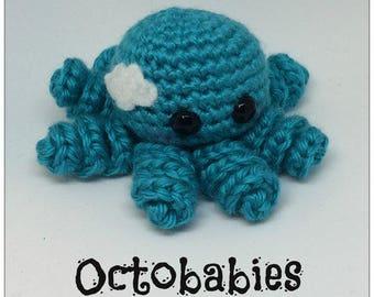 Octobabies Plush Crochet Octopus Toy