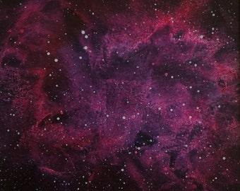 blue and red pheonix nebula - photo #45