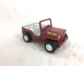 Tonka Jeep Metal Toy