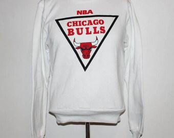 Vintage Chicago Bulls NBA Crewneck Sweatshirt S