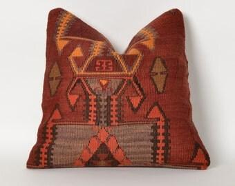 kilim pillow, decorative pillow, pillow, kilim rug pillow, turkish pillow, rug pillow, cushion cover, bohemian pillow, turkish kilim pillow
