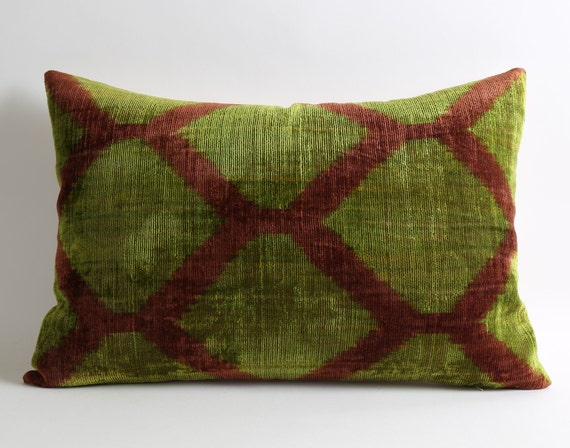 Scandinavian Design Throw Pillows : Scandinavian home decor ikat velvet pillow cover throw pillows