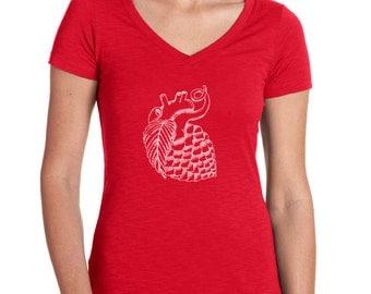 Women's Hop Heart Craft Beer Shirt