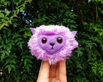 LIMITED EDITION Purple Pygmy Puff, Ginny Weasley Cosplay Pet, Harry Potter Toy, Hogwarts Pet, Arnold the Pygmy Puff, Weasleys Wizard Wheezes