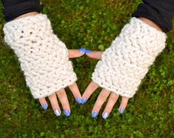 Chunky Fingerless Gloves, Crochet Arm Warmers, Fingerless Gloves, Texting Gloves, Fingerless Mitts, Arm Warmers, Knit Chunky Gloves