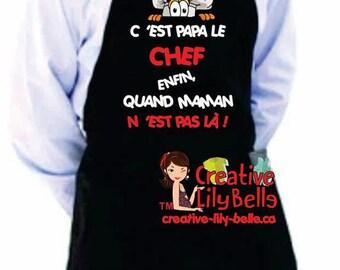 cooking apron GRANDMA TB3