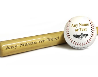 Custom Baseball Bat, Groomsmen Baseball Bat, Engraved Baseball Gift, Birthday Gift for Boys, Personalized Baseball Gifts Baseball Coach Gift