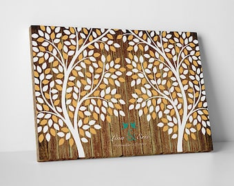 Rustic Wedding Guest Book Alternative Custom Guest Book Wedding Tree Guest Book Wedding Guestbook Alternative Wedding Guest Book