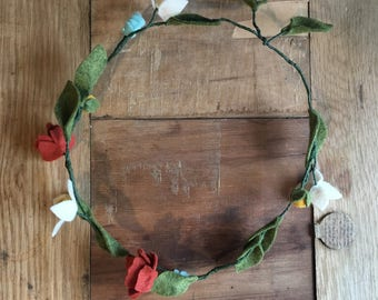Flower Crown, Headband, Wreath