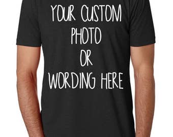 Personalised T Shirt Make Your Own Tee Top Create Your Own