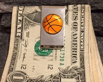 Basketball Money Clip, Custom Photo Money Clip, Custom Money Clip