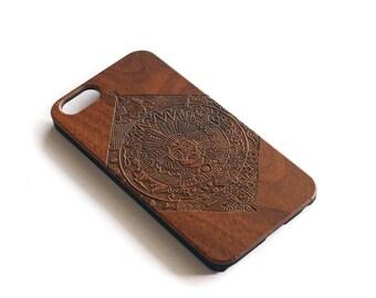 iPhone, iPhone 6, iPhone 6S, iPhone 6 Case, iPhone 6S Case, iPhone 6S Cases, iPhone 6 Plus, iPhone 6 Plus Case, Chief, Walnut Wood
