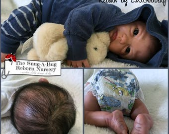 ON SALE - Amazingly Lifelike Reborn Baby Boy - New Release Lennox by Iris Klement