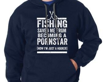 Fishing Hoodie Fisherman Hooded Sweater Funny Fishing Apparel