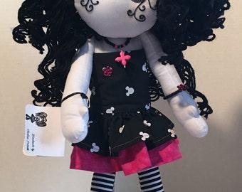 Lorelie-OOAK Mad Rag Doll-Gothic