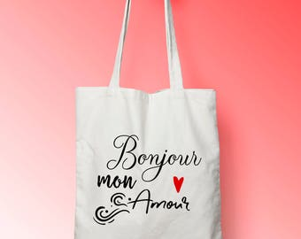 X448Y tote bag wedding tote bag cotton where, tote bag, diaper bag, married future bag, bag where, tote bag bag in cotton married,