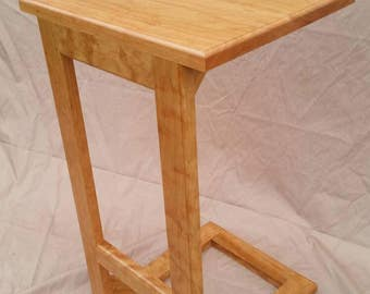 Hardwood C Table (free shipping!)