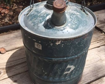 Vintage Gas and Oil Can