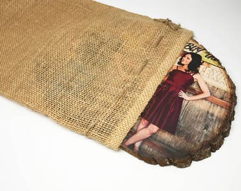 Burlap Gift Bags - Gift Wrapping Add-On
