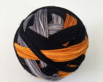 Ready to Ship: Campfire Tales - Hand Dyed Sock Yarn - Self-Striping
