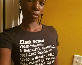 Definition of a Black Woman  (Original): Gifts for Black Women ~ Gifts for Black Woman ~ Gifts for African Pride ~ Gifts for Black Pride