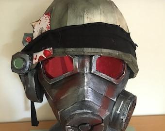 Fallout New Vegas Inspired NCR Ranger Helmet (Full Metal Jacket)