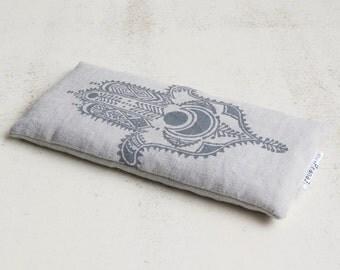 Linen lavender eye pillow, eco friendly eye pillow, scented eye pillow, herbal eye pillow, eye pillow yoga, eye pillow lavender, meditation