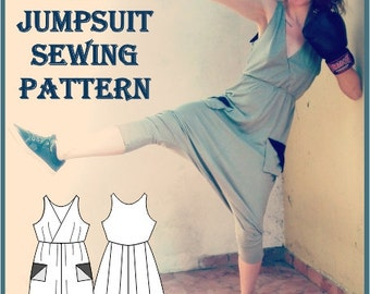 Sewing Pattern: Bea Jumpsuit