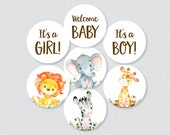 Printable Safari Baby Sho...