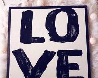 """LOVE 24x24"""""""