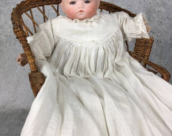 Vintage or antique Herman Steiner baby, baby doll, vintage doll, sweetheart with bisque head