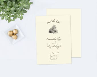 Editable Rustic SAVE THE DATE, Instant Download, Rustic Save Our Date, Save The Date Card, Customize diy pdf Template, Save The Date Invite
