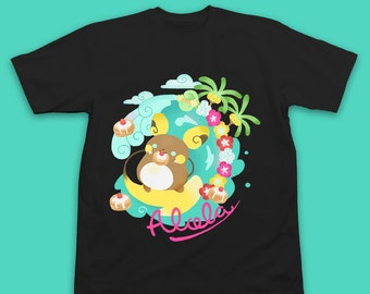 Alola Raichu Pokemon T-Shirt - Raichu Pokemon Shirt - Pokemon Sun And Moon Shirt - Alola Form - Raichu Shirt - Pokemon T-Shirt - Pikachu