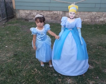 Cinderella pinata, my interpretation of a princess cinderella pinata