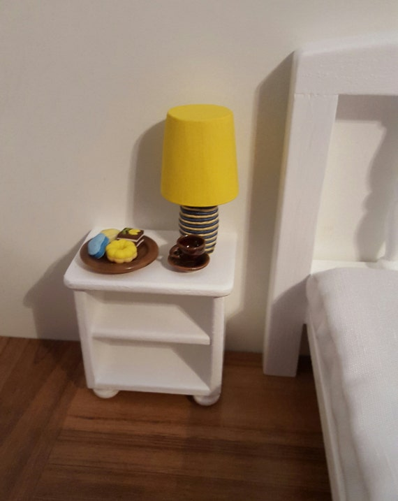 White bedside table 1 6 scale table 1 6 scale accent table for 1 6 scale table